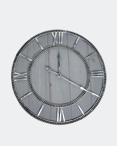 Wood-Metal Clock