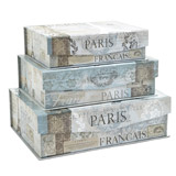 blue Paris Blue Tab Box
