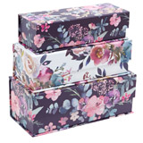 multi Rectangular Flower Tab Box