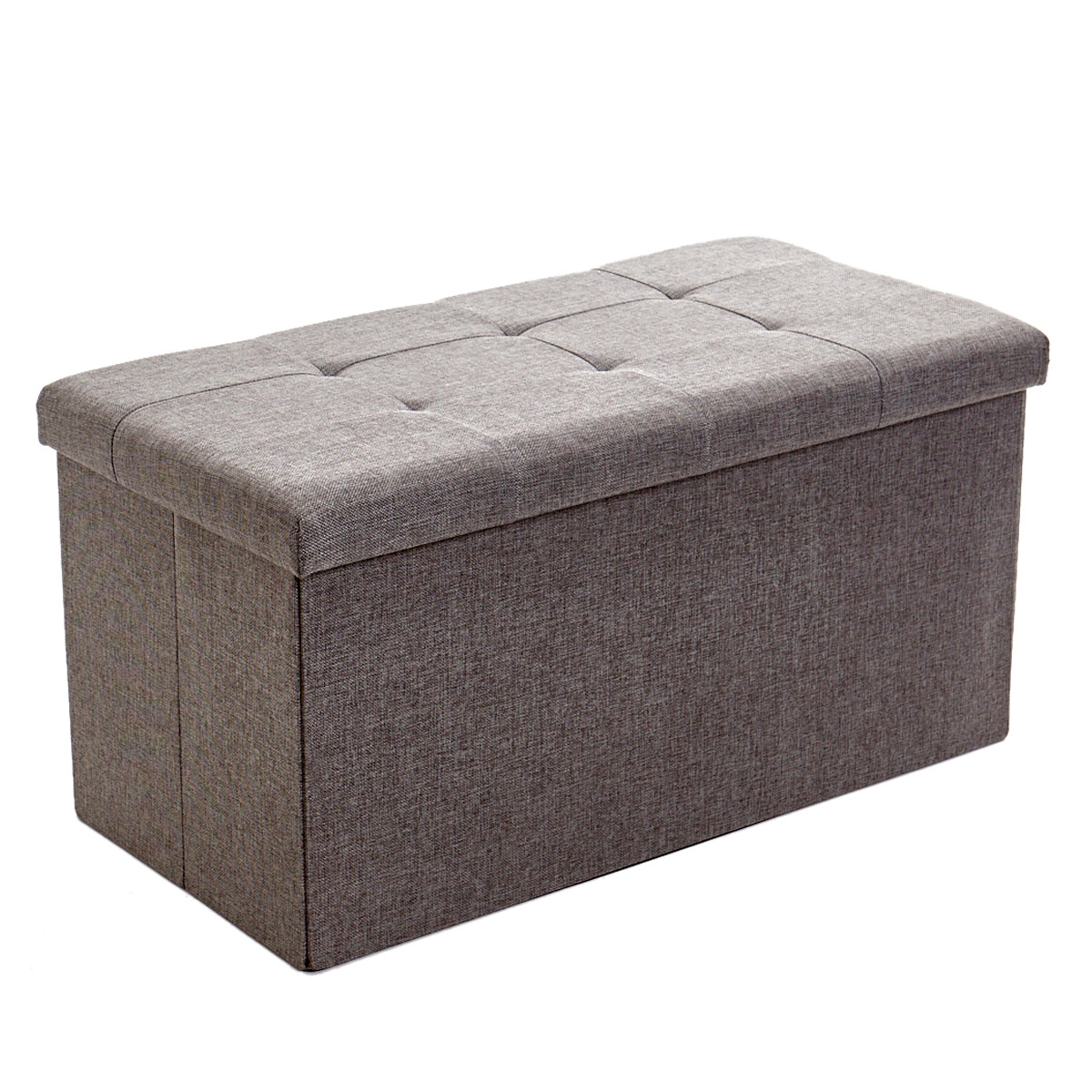 Picture of: Dunnes Stores Grey Storage Ottoman