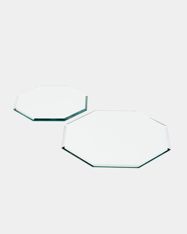 Octagonal Mirror Plate