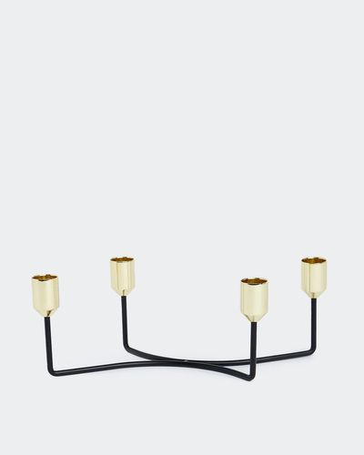 4 Piece Dinner Candle Holder