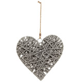 grey Rope Heart