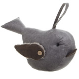 grey Bird Doorstop