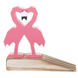pink Flamingo Door Wedge