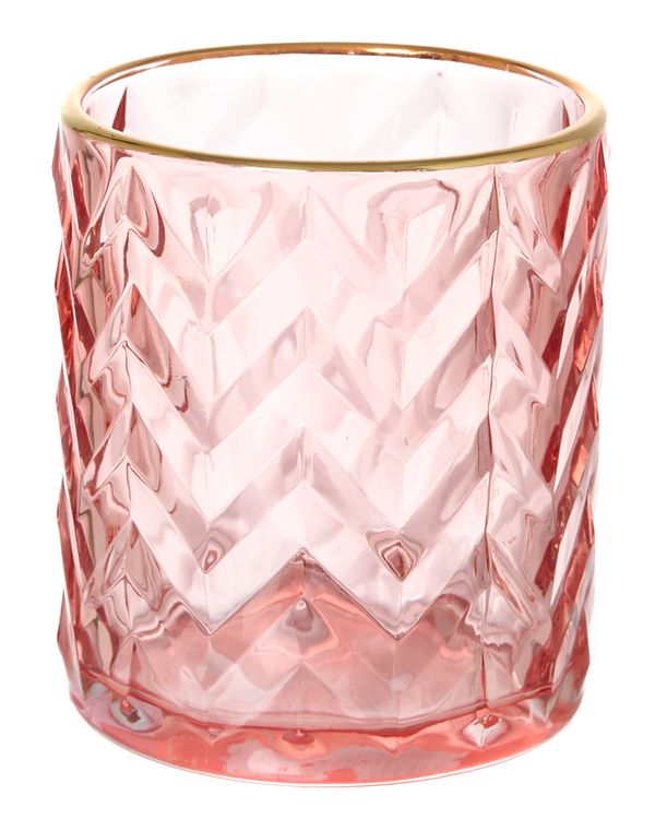 Chevron Candle Holder