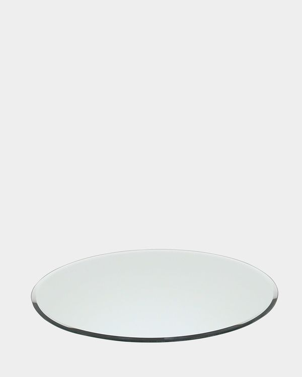 Round Candle Plate