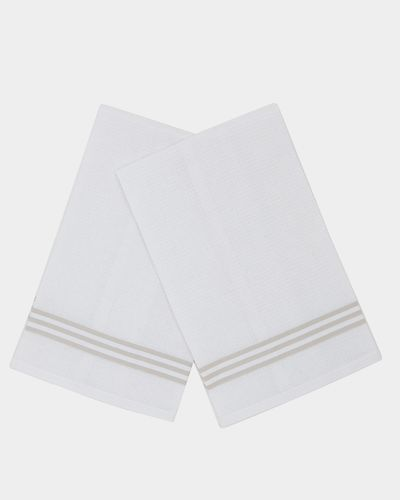 Waffle Tea Towels - Pack Of 2