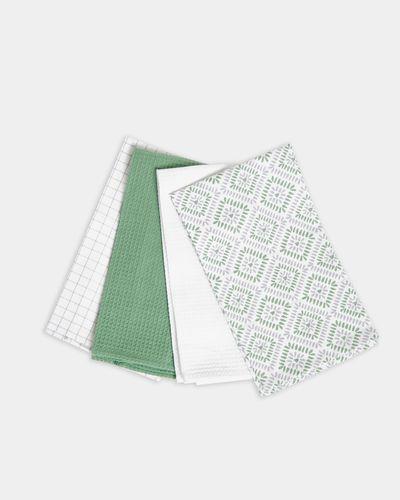 Printed Tea Towels - Pack Of 4