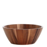 brown Large Salad Bowl