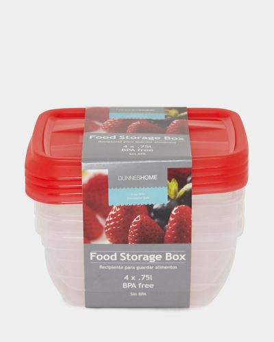 Food Boxes - Pack Of 4
