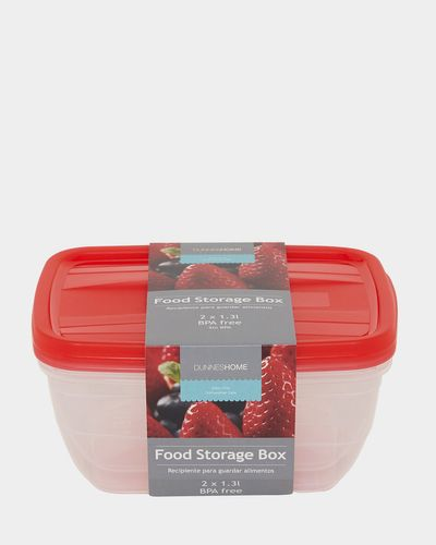 Food Boxes - 2 Pack