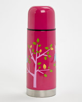 pink Printed Flask - 350ml
