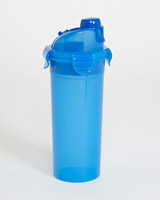 blue Back To School Drinking Bottle