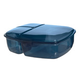 navy Multi Section Lunch Box