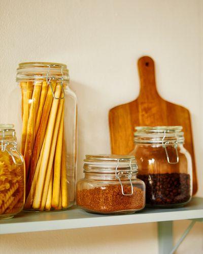 Clip Top Glass Jar