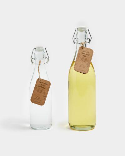 Clip Top Glass Bottle