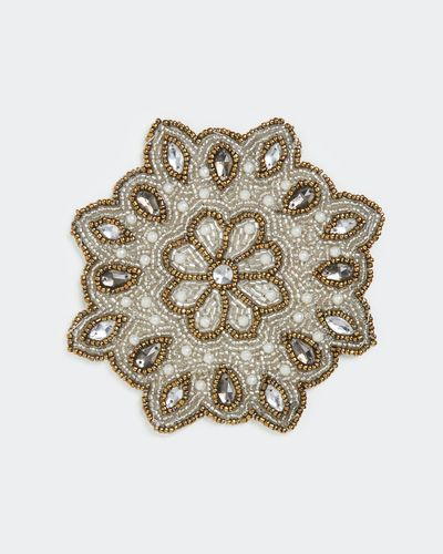 Beaded Coaster - Pack Of 4