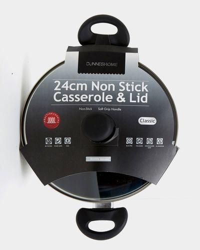 Aluminium Casserole And Lid - 24cm