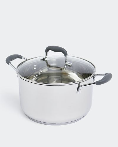 Stainless Steel 24CM Casserole thumbnail