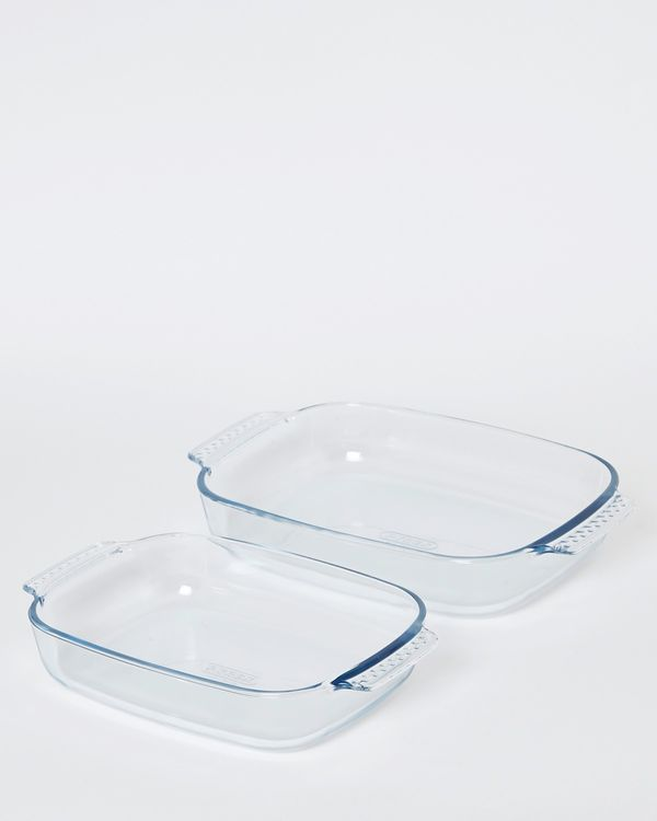 Pyrex Roasters - Set Of 2