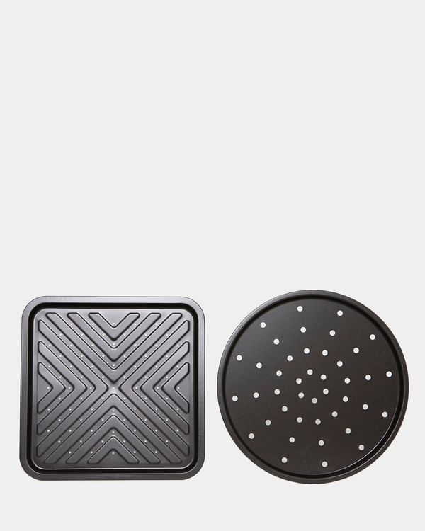 Pizza And Chip Tray - Pack Of 2