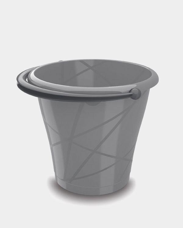 Round 12 Litre Plastic Bucket