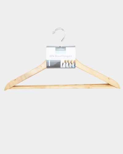 Wooden Hangers - Pack Of 5 thumbnail
