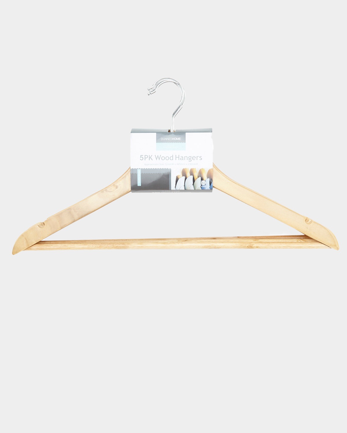 Wooden Hangers Pack Of 5
