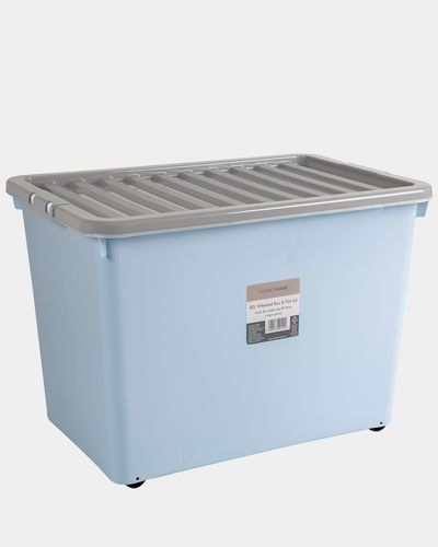 Wheeled Box And Lid