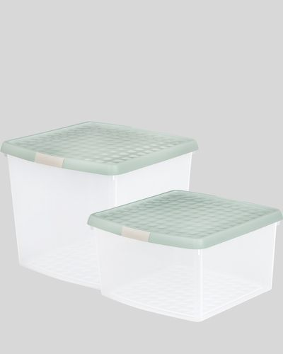 Clip Lid Storage Box