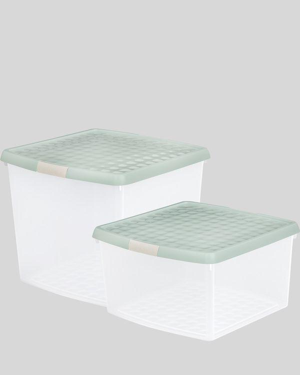 Clip Lid Storage Box