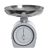 grey Retro Weighing Scale