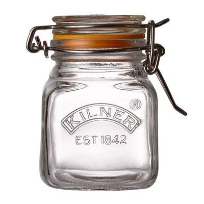 Kilner Clip Top Square Spice Jar