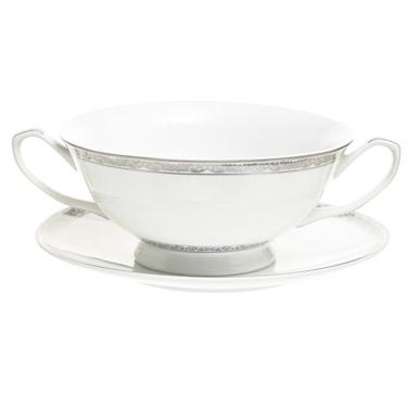 whiteAnnecy Soup Bowl