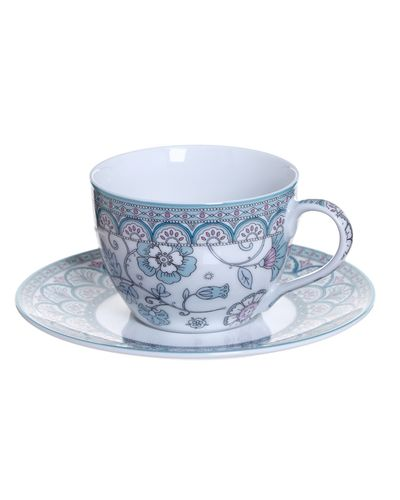 Sienna Cup And Saucer