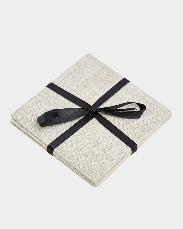 Textured Coaster Set - Pack Of 4