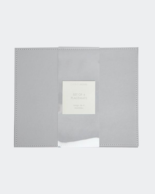 Rectangular Stitch Placemats - Pack Of 4