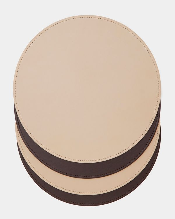 Round Stitch Placemat - Pack Of 4
