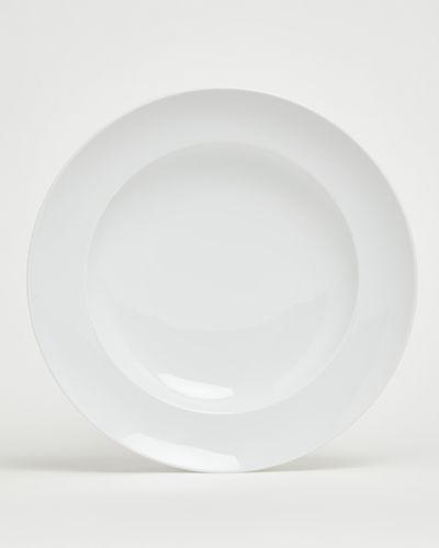 Simply White Large Pasta Plate