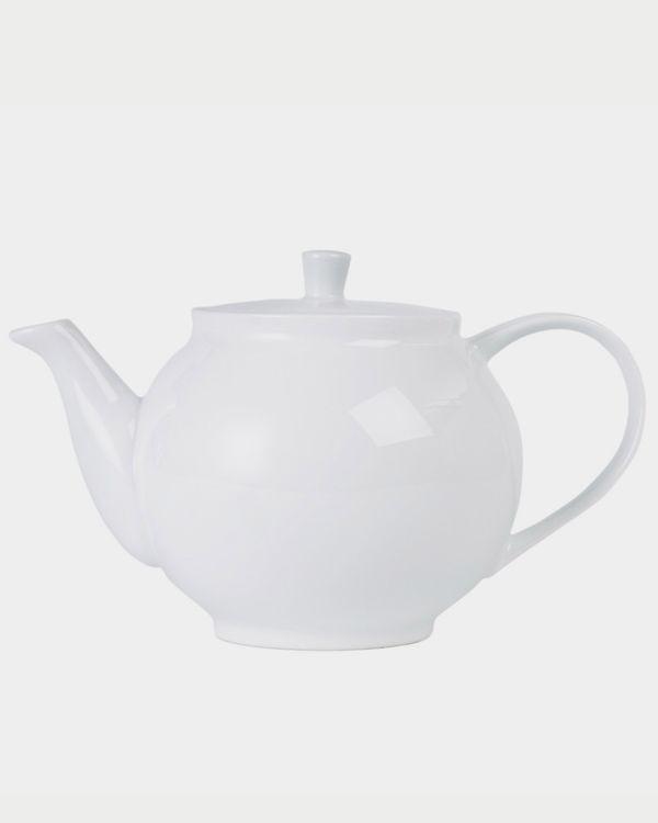 Simply White Teapot