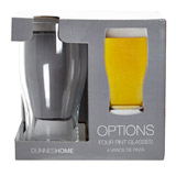 clear Pint Glass - 4 Pack