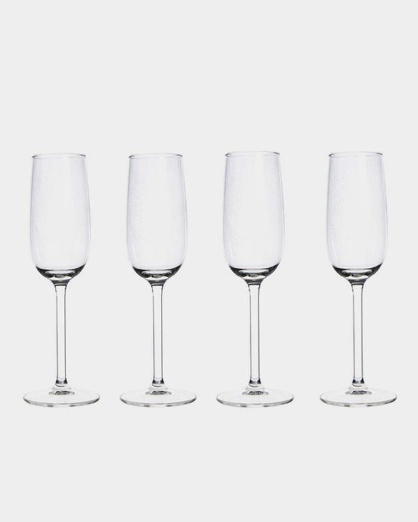 Flute Glass - Pack Of 4