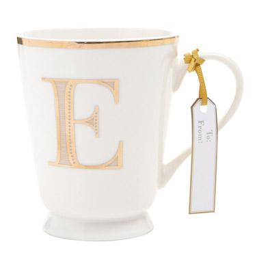 eGold Alphabet Mug