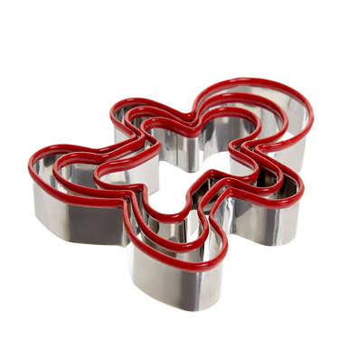 gingerbreadLoose Cookie Cutters - Pack Of 3