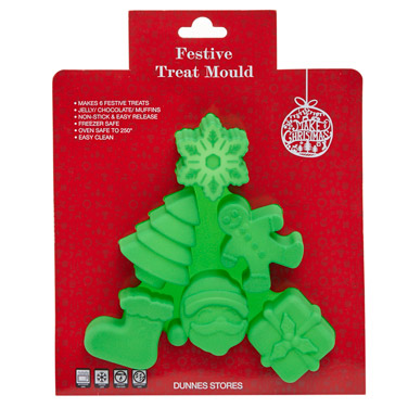greenChristmas Tree Treat Mould