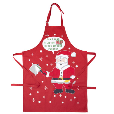 redChristmas Apron