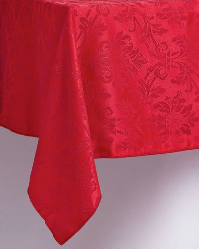 Damask Small Tablecloth