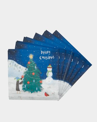 Festive Napkins - Pack Of 20