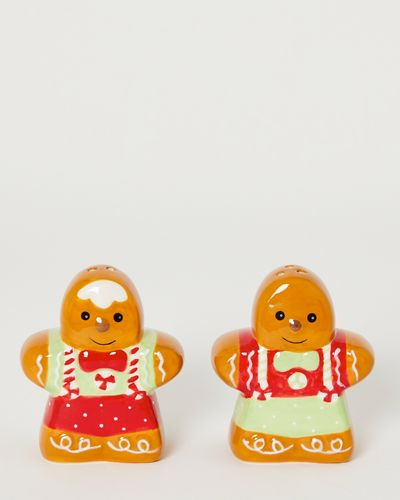 Gingerbread Salt And Pepper Shaker - Pack Of 2  thumbnail